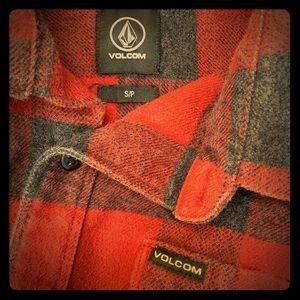 Volcom flannel Men's shirt Small